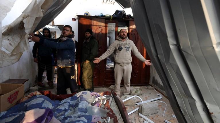 Ισραηλινοί βομβαρδισμοί στη Γάζα μετά τις ρουκέτες της Χαμάς