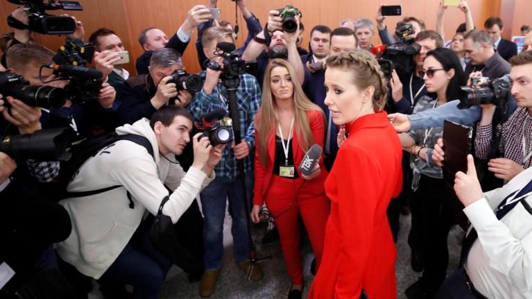 H «ρωσίδα Πάρις Χίλτον» στη συνέντευξη Τύπου του Πούτιν