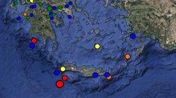 Σεισμός 4,7 Ρίχτερ ανοικτά της Κρήτης
