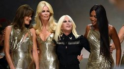 Versace, ένας επικός συνδυασμός supermodels