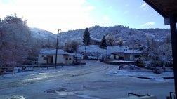 Επέλαση του χιονιά σε Στερεά Ελλάδα και Πελοπόννησο