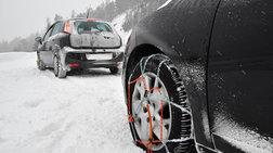 Χιονοπτώσεις στην ορεινή Κορινθία: Πού χρειάζονται αντιολισθητικές αλυσίδες