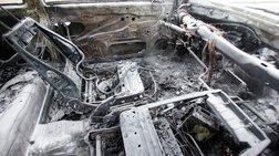 Το καμένο φορτηγάκι στα Εξάρχεια είναι το όχημα των δραστών
