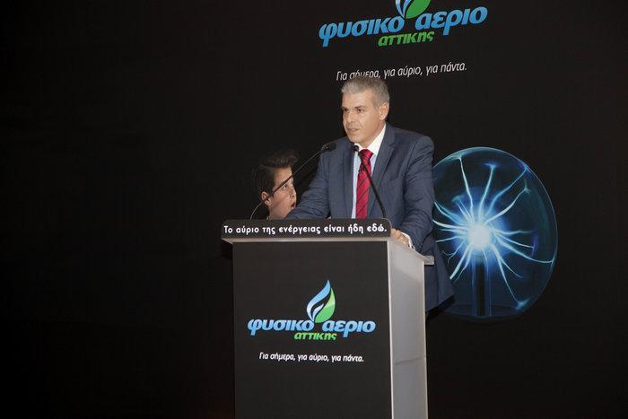 Πάνος Αλεξόπουλος Chief Marketing Officer του Φυσικού Αερίου Αττικής
