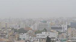 Πυκνή σκόνη από τη συριακή έρημο στην Κύπρο