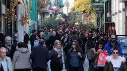 Σε εορταστικό κλίμα η κίνηση στην αγορά της Αθήνας