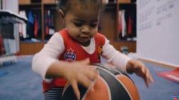 Το υπέροχο βίντεο της ΤΣΣΚΑ για τα παιδιά των παικτών της