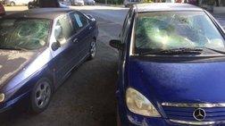 Αστεγος πήγε στη Ρόδο και έσπαγε αυτοκίνητα