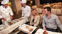 Τα 5 καλύτερα γεύματα σε αεροπορικές εταιρίες - Τι λένε οι ειδικοί