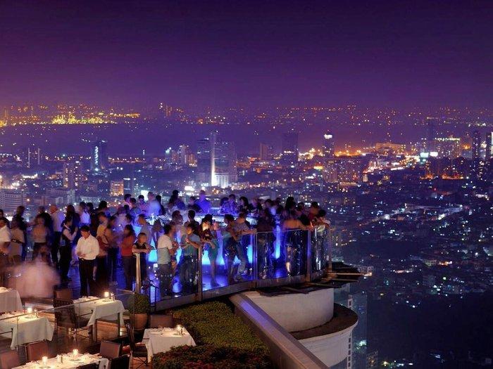 To Sky Bar του Lebua Hotel στην Μπανγκογκ