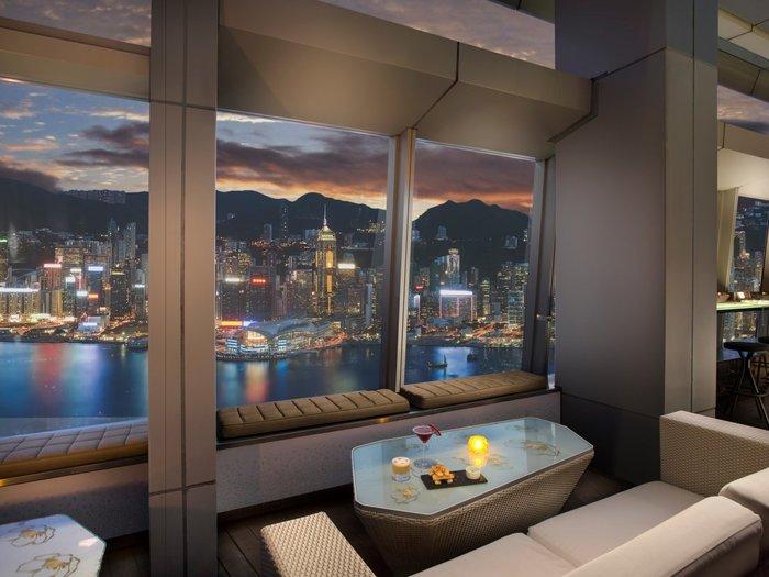 Το Ozone στον 118ο όροφο του Ritz Carlton στο Χονγκ-Κονγκ