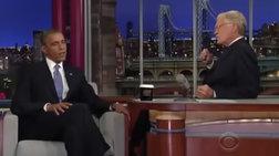 Λέτερμαν και Ομπάμα επιστρέφουν στο Netflix για μια συνέντευξη