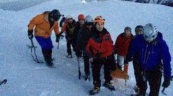 Καρέ καρέ η διάσωση της 35χρονης ορειβάτισσας στον Ολυμπο -φωτό και vid