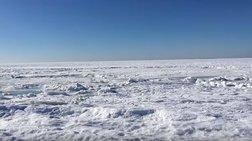 Απίστευτο: Πάγωσε ο Ατλαντικός ωκεανός στη Μασαχουσέτη!