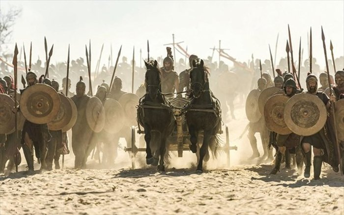Στιγμιότυπο από τη νέα σειρά «Troy: Fall of a City»