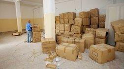 756e16eeea Εντοπίστηκε μεγάλη αποθήκη με «μαϊμού» προϊόντα συνεληφθη 40χρονοΣ ΚινεζοΣ  etoima-na-pniksoun-tin-agora-22500-rouxa-maimou-