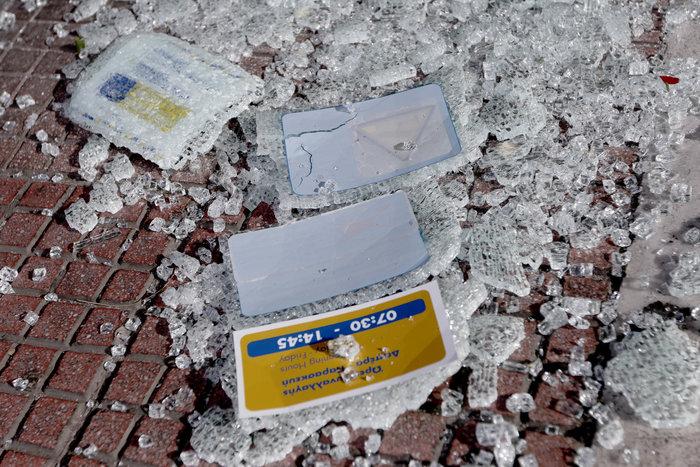 Εισβολή αγνώστων σε ΕΛΤΑ και σε τράπεζα στην Πατησίων - εικόνα 4