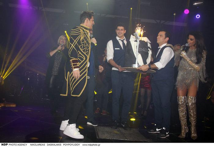 Μαραβέγιας - Σωτηροπούλου: Πήγαν μαζί στο... τρελό πάρτι του Ρουβά[Εικόνες]