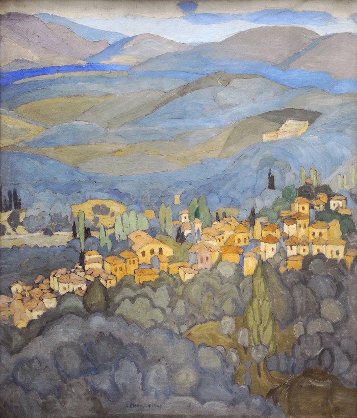 Ο σπουδαίος ζωγράφος Σπύρος Παπαλουκάς στη Δημοτική Πινακοθήκη