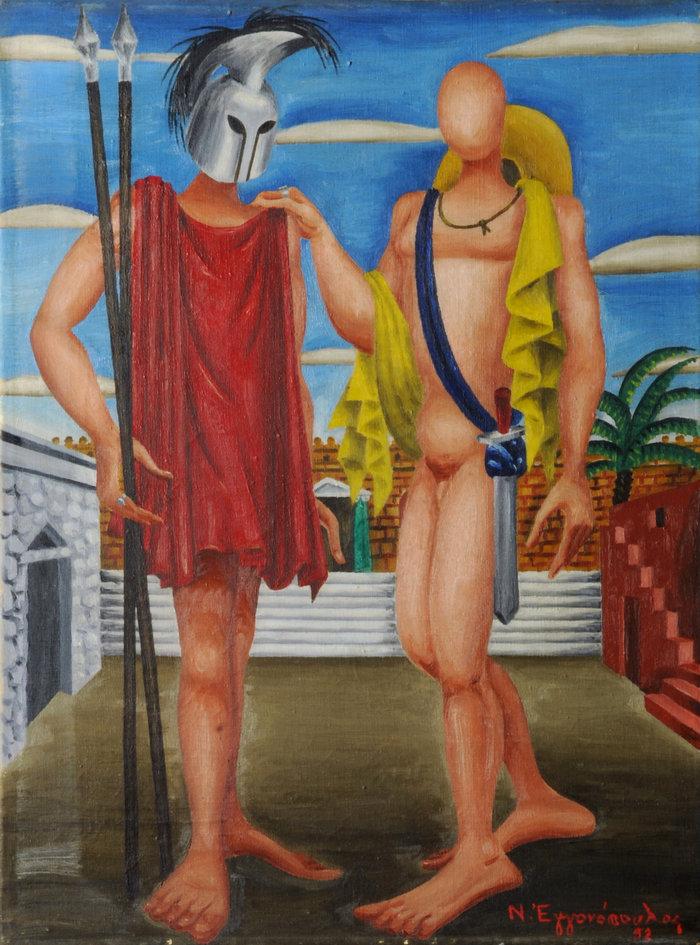 Ο σπουδαίος ζωγράφος Σπύρος Παπαλουκάς στη Δημοτική Πινακοθήκη - εικόνα 4