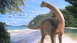 Βρήκαν στην Αίγυπτο απολίθωμα δεινοσαύρου μεγάλου όσο ένα λεωφορείο