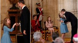 Πριγκίπισσα Λεονόρ: Η μέλλουσα βασίλισσα στην πρώτη της υπόκλιση