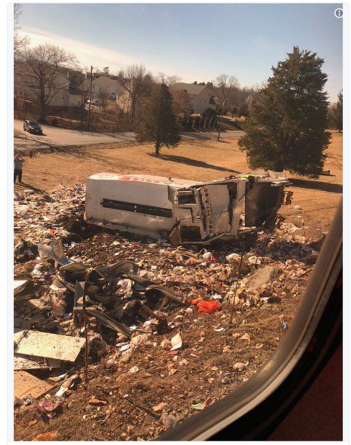 ΗΠΑ: Σύγκρουση τρένου με απορριμματοφόρο -Ενας νεκρός