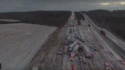 Καραμπόλα... χιλιομέτρων στο Μιζούρι - Βίντεο