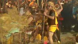 Τύρναβος: Φυλάκιση έξι μηνών με αναστολή σε καρναβαλιστές (βίντεο)