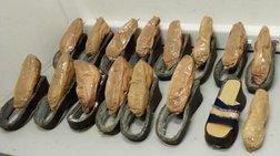 Μετέφερε την ηρωίνη στα παπούτσια-συνελήφθη στο Ελ. Βενιζέλος