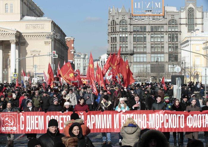 Παρέλαση για τα 100 χρόνια από την ίδρυση του Κόκκινου Στρατού - εικόνα 2