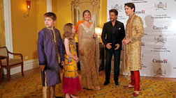 Η απόλυτη γελοιοποίηση του Τριντό στην Ινδία ως... σταρ του Bollywood