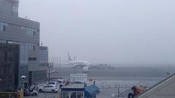 Ταλαιπωρία για τους επιβάτες από τις ακυρώσεις πτήσεων λόγω της κακοκαιρίας