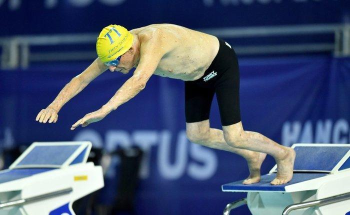 Παγκόσμιο ρεκόρ στην κολύμβηση από έναν ...99χρονο