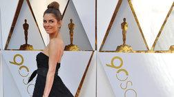Η Μαρία Μενούνος στα Όσκαρ με φόρεμα ελληνίδας σχεδιάστριας [Εικόνες]