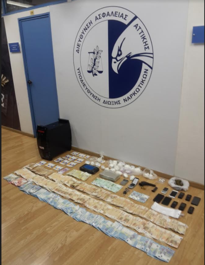 Εντοπίστηκε εγκληματική οργάνωση που διακινούσε ναρκωτικά - Εικόνες