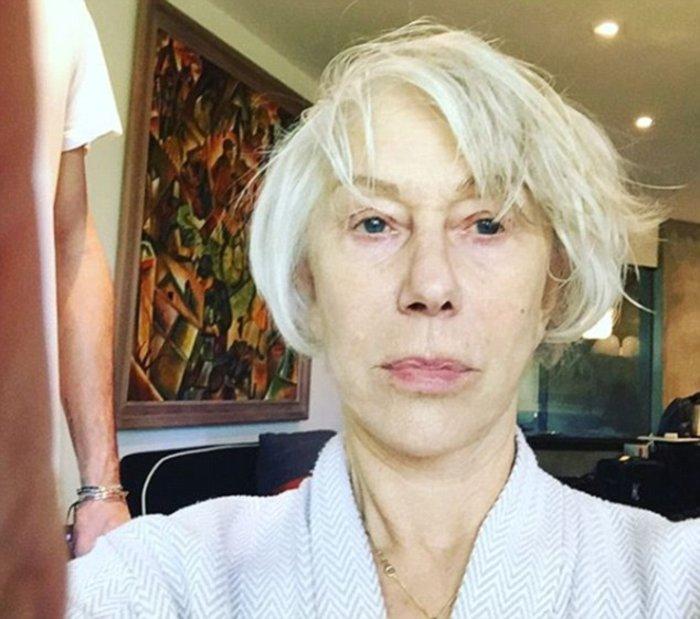Η ακομπλεξάριστη Έλεν Μίρεν δείχνει την μεταμόρφωσή της για τα Όσκαρ
