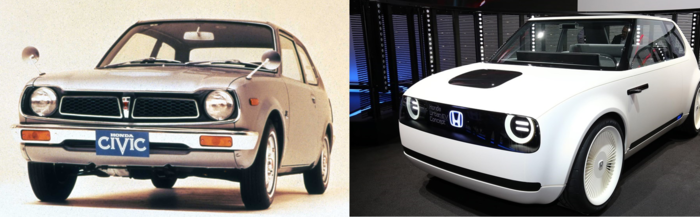 Honda Urban EV Concept: Το αυτοκίνητο -απόλυτος φόρος τιμής- στο 1ο Civic