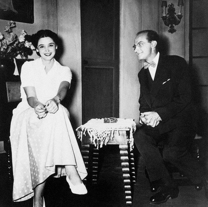 Αννα Συνοδινού - Ντίνος Ηλιόπουλος, «Ζητείται Ψεύτης» (1954)