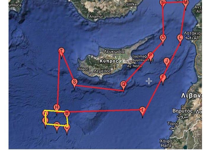 H Kύπρος απαντά στη Νavtex της Τουρκίας με antinavtex