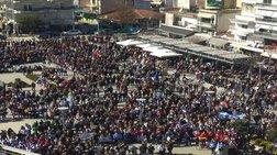 Με τον εθνικό ύμνο ολοκληρώθηκε το συλλαλητήριο στην Ορεστιάδα (βίντεο)