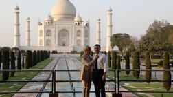 Ρομαντική απόδραση για τους Μακρόν στην Ινδία