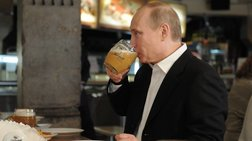 """""""Το τσούζει"""" ο Πούτιν - Η αποκάλυψή του για μπύρα και Μέρκελ"""
