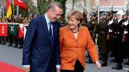 Τηλεφωνική επικοινωνία Μέρκελ-Ερντογάν