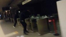 Καταδρομική επίθεση στο σταθμό του ηλεκτρικού στον Περισσό