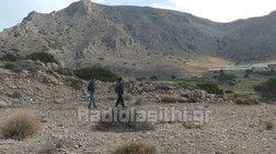 Φρίκη στη Σητεία: Κυνηγός εντόπισε διαμελισμένο πτώμα στα Πιλαλήματα