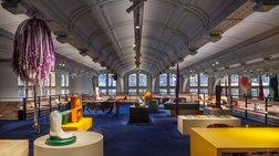 Τα γραφεία του Calvin Klein στο Παρίσι είναι ένας χώρος τέχνης