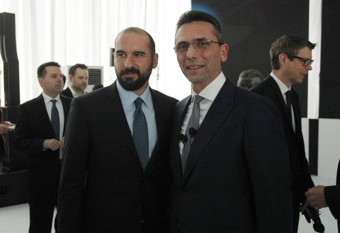 Δημήτρης Τζανακόπουλος, Χρήστος Χαρπαντιδης