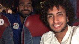 Η κοινή φωτογραφία Ουάρντα και Σάλαχ στην εθνικη αιγυπτου