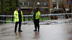 Επίθεση με σπαθί σε αστυνομικούς στην Αγγλία με δύο τραυματίες (βίντεο)